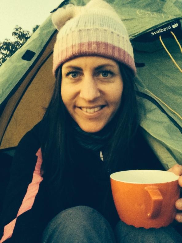 First campsite brew!