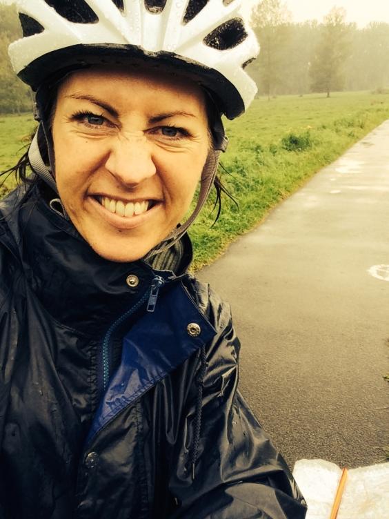 Belgian downpour