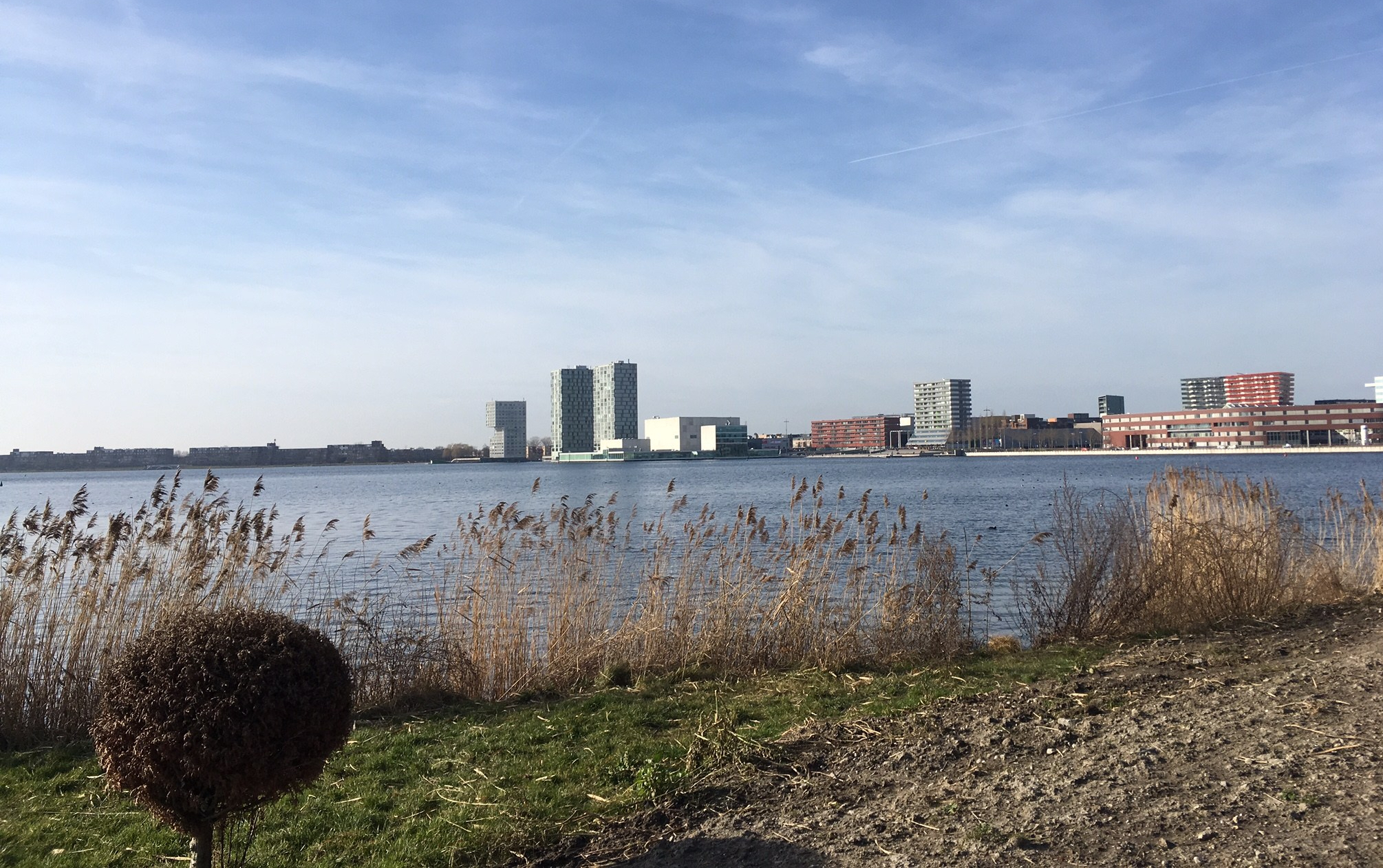 Almere running routes - Het Weerwater